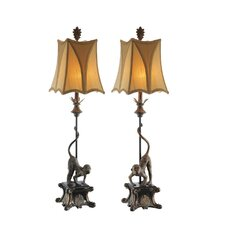 Monkey 1 Light Table Lamp (Set of 2)