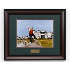 """Nicklaus Farewell"" Framed Photographic Print"
