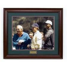 """Palmer, Nicklaus & Woods"" Framed Photographic Print"