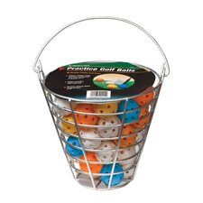 48 Piece Practice Balls In Range Bucket