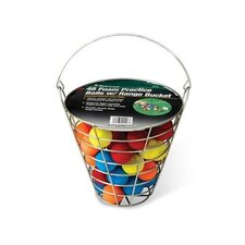 48 Piece Foam Balls In Range Bucket
