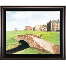 "<strong>Golf Gifts & Gallery</strong> ""St Andrews"" Canvas Framed Art"