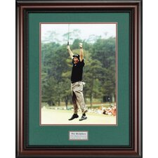 """Phil Mickelson"" Framed Photographic Print"
