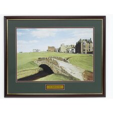"<strong>Golf Gifts & Gallery</strong> ""St Andrews"" Framed Art"