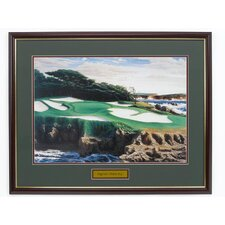 """Cypress Point 15"" Framed Photographic Print"