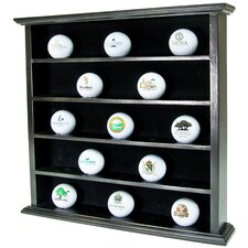 <strong>Golf Gifts & Gallery</strong> 25 Ball Display Cabinet