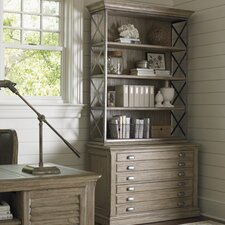 Barton Creek Johnson File Cabinet with Deck