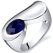 Artistic 1.75 carats Ring in Sterling Silver