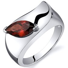 Musuem Style Marquise Cut 1.25 carats Ring in Sterling Silver