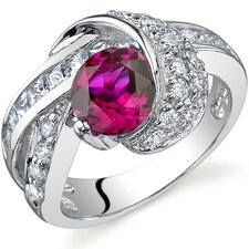 Mystic Divinity 1.25 carats Ring in Sterling Silver