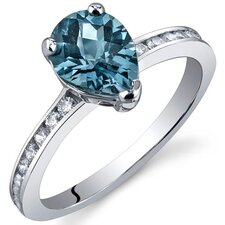 Uniquely Sophisticated 1.00 Carats Ring in Sterling Silver