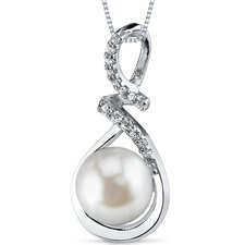 Sterling Silver Cultured Pearl Pendant