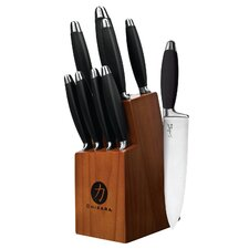 Chikara Comfort Grip Series 10 Piece Cutlery Block Set