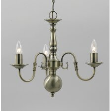 Flemish 3 Light Chandelier