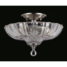 Dallas 2 Light Semi Flush Mount