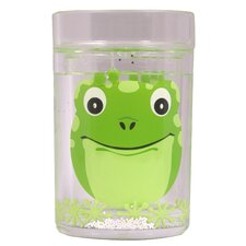 <strong>Epicurean</strong> Children's Friendly Faces 4 Piece Frog Floatie Glass Set