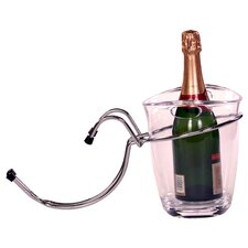 18cm Champagne Bucket and Table Mounted Holder