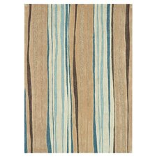 Aurora Neutral / Blue Rug