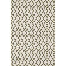 Felix Geometric Ivory/Olive Rug