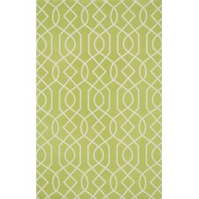 Felix Geometric Apple Green/Ivory Rug