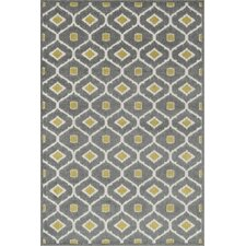Oasis Grey/Citron Outdoor Rug