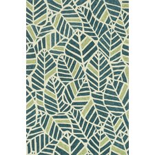 <strong>Loloi Rugs</strong> Tropez Blue/Green Tropical Inspired Rug