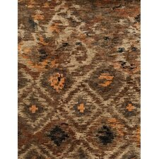 Xavier Rustic Brown Rug