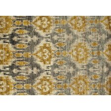 Xavier Grey / Gold Rug