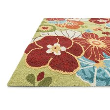 Juliana Apple Green Area Rug