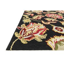 Juliana Black Rug