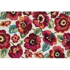 Francesca Ivory/Fuchsia Florals Rug