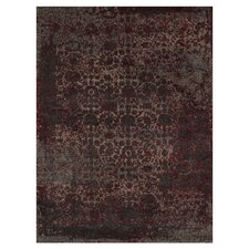 Viera Charcoal/Red Rug