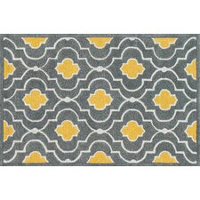 Brighton Gray & Gold Area Rug