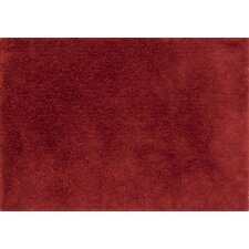Fresco Red Solid Area Rug
