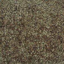 Hera Mocha Brown/Tan Solid Area Rug