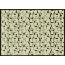 Halton Ivory / Brown Rug