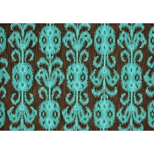 Milano Chocolate / Teal Rug