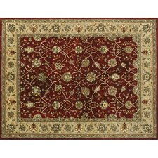 Yorkshire Red Area Rug