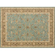 Stanley Blue / Brown Rug