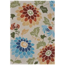 Sunshine Ivory Indoor/Outdoor Rug