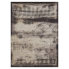 Mystique Flax / Expresso Rug
