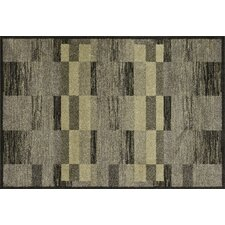 Revive Charcoal / Green Rug