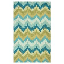 Summerton Aqua/Green Rug