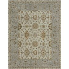 Elmwood Ivory / Blue Rug
