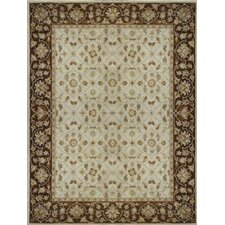 Elmwood Ivory / Brown Rug