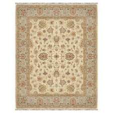 Majestic Ivory/Blue Area Rug