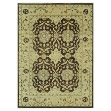 Vernon Brown / Light Green Rug