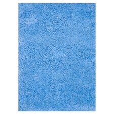 Hera Blue Solid Area Rug