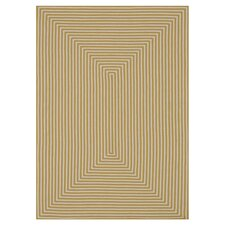 In/Out Yellow Area Rug