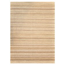 Green Valley Tan Stripe Area Rug